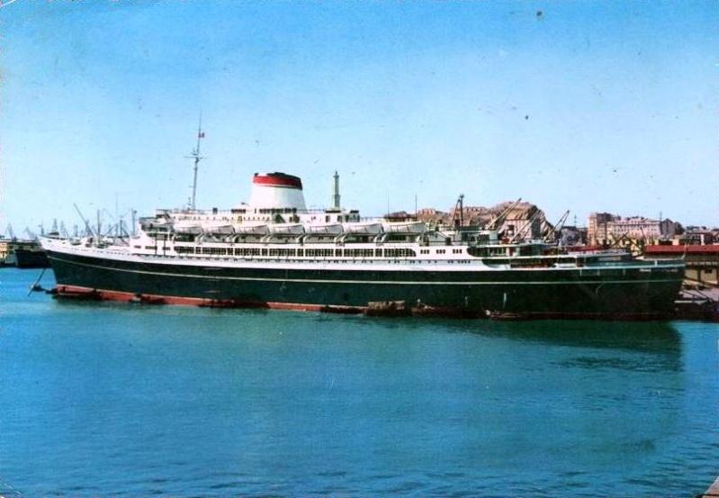 'Cristoforo Colombo' - Italia nav. - 1953 045ner10