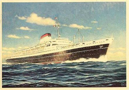 'Cristoforo Colombo' - Italia nav. - 1953 046ner10