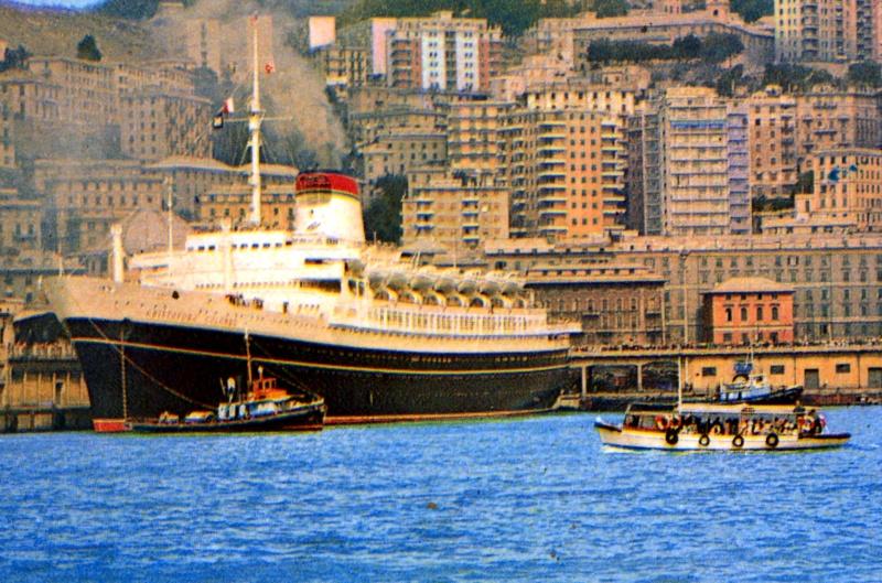 'Cristoforo Colombo' - Italia nav. - 1953 048ner10