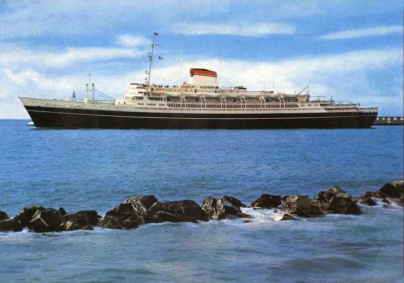 'Cristoforo Colombo' - Italia nav. - 1953 050ner10