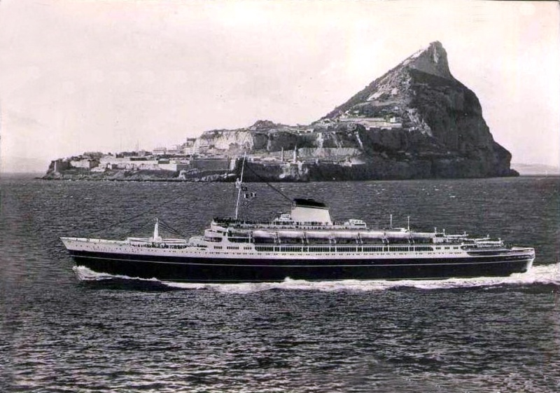 'Cristoforo Colombo' - Italia nav. - 1953 051ner11