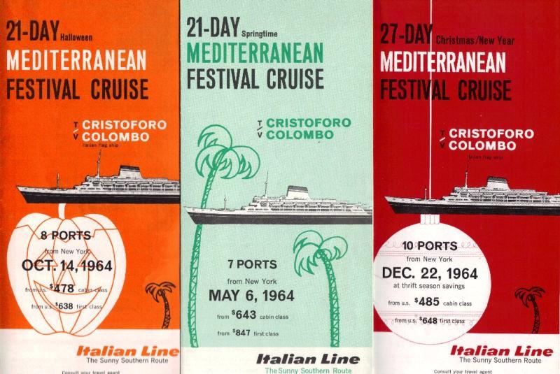 'Cristoforo Colombo' - Italia nav. - 1953 053ner10