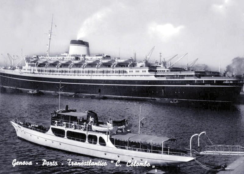 'Cristoforo Colombo' - Italia nav. - 1953 054ner10