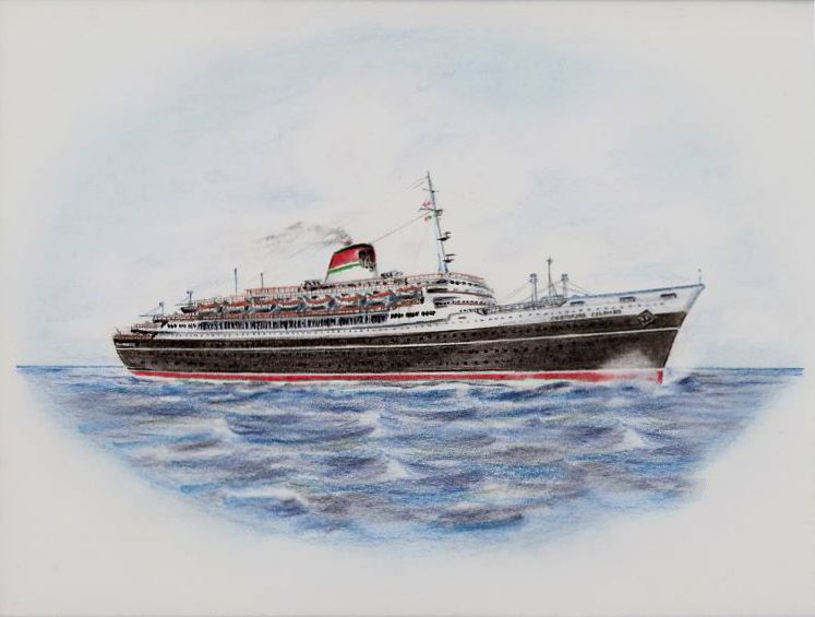 'Cristoforo Colombo' - Italia nav. - 1953 055ner10