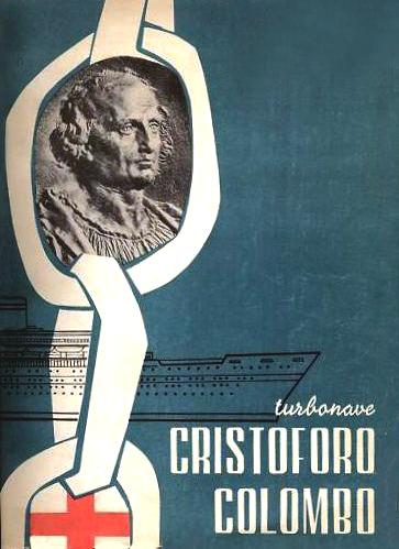 'Cristoforo Colombo' - Italia nav. - 1953 056ner10