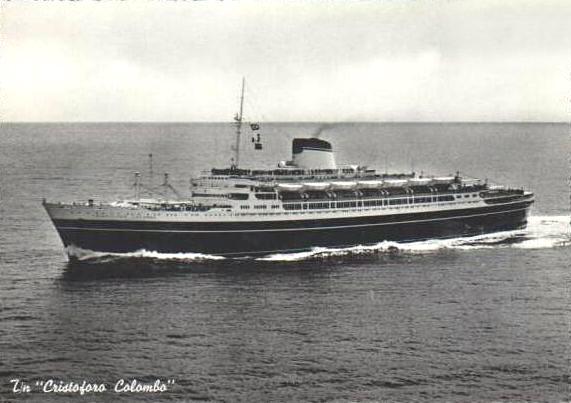 'Cristoforo Colombo' - Italia nav. - 1953 058ner10