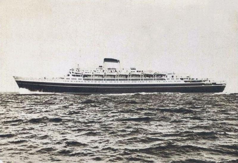 'Cristoforo Colombo' - Italia nav. - 1953 059ner10