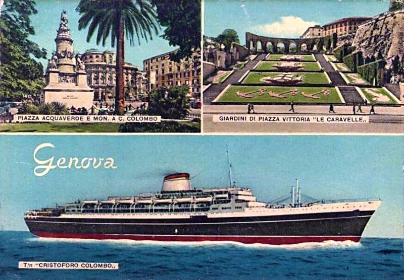 'Cristoforo Colombo' - Italia nav. - 1953 060ner10