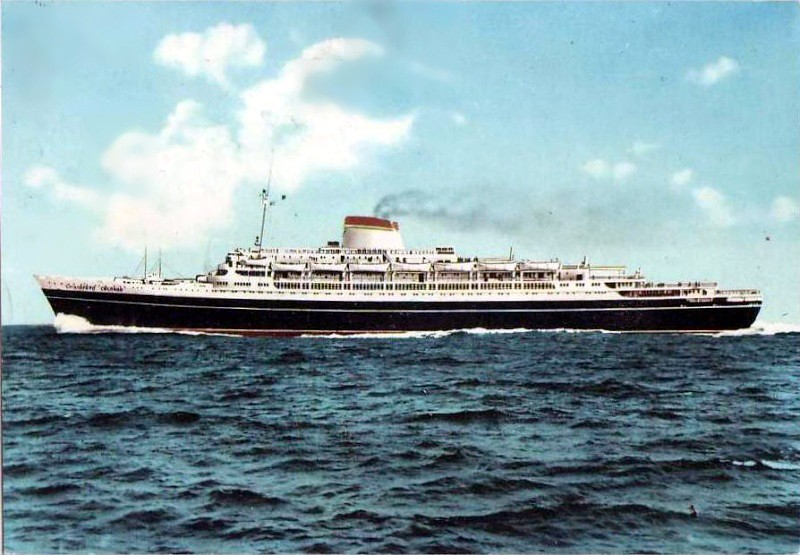 'Cristoforo Colombo' - Italia nav. - 1953 062ner10
