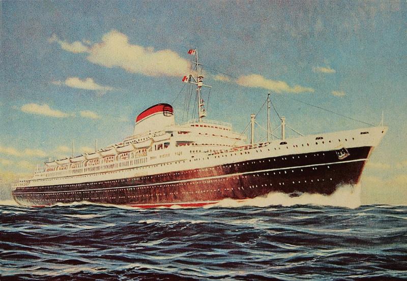 'Cristoforo Colombo' - Italia nav. - 1953 063ner11