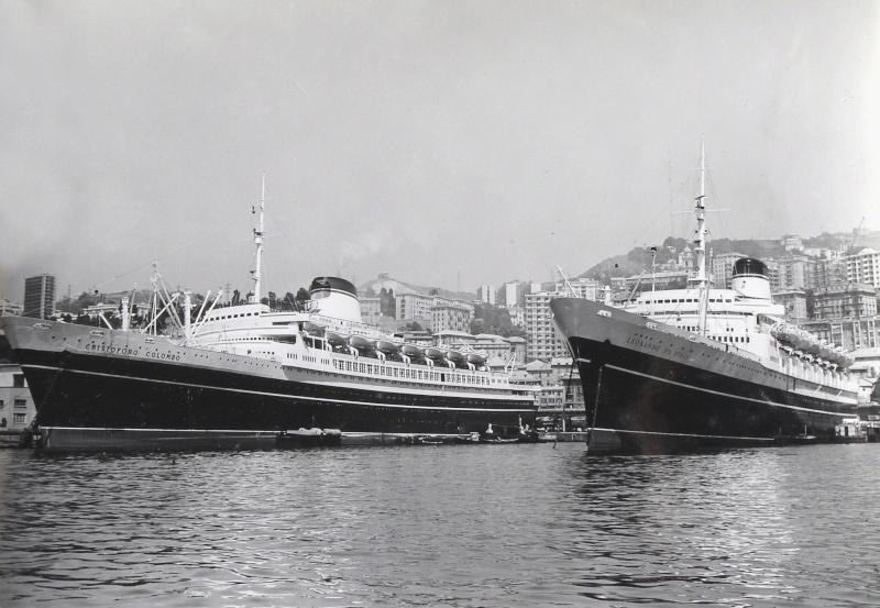 'Cristoforo Colombo' - Italia nav. - 1953 064ner10
