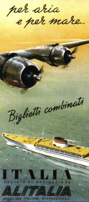 'Cristoforo Colombo' - Italia nav. - 1953 Nave_a12