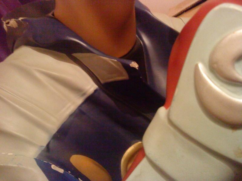 [Ech] Statue Jin Kazama contre borne arcade Jin610