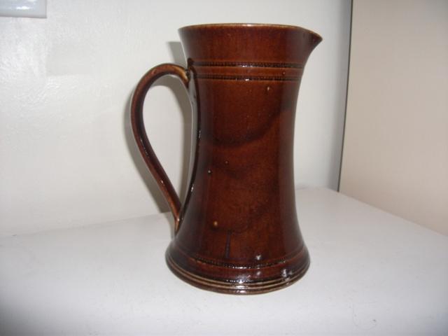 Christchurch Brick Company Ltd jug courtesy of Manos .. Dscf2418