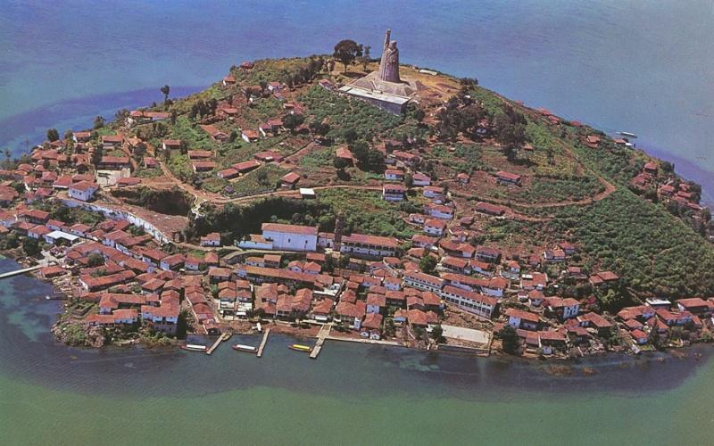 [Mexique] - Statue de José Maria Morelos, Isla de Janitzio, Etat du Michoacan Janitz12