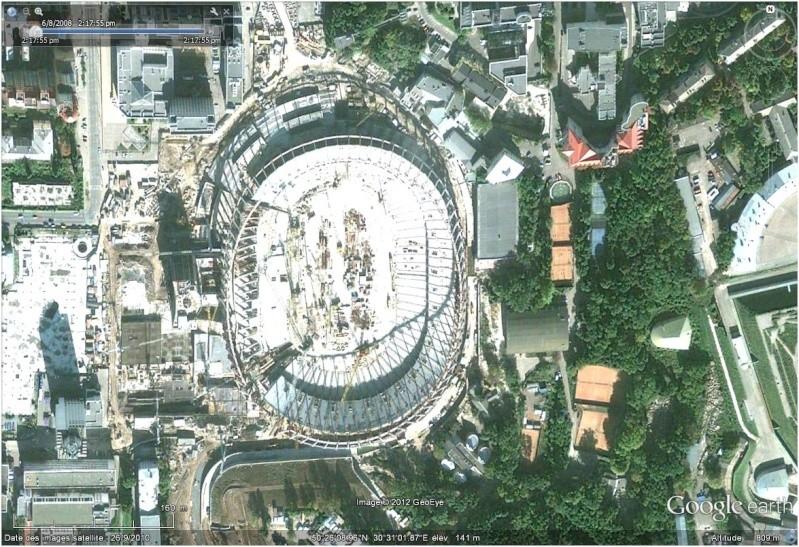 varsovie - Stades de foot pour l'Euro 2012 (Ukraine/Pologne) Kiev10