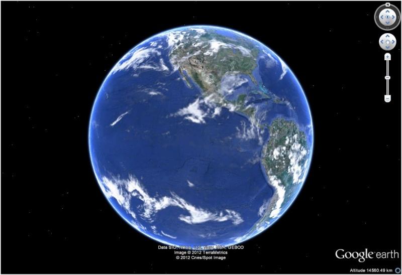 Magnifique (et récente) Vue satellite de la terre sur flickr.com Terre10