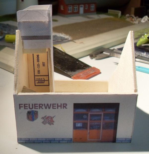 Gleimo - Feuerwehrgerätehaus in Mischbauweise - Baubericht Feuerw16