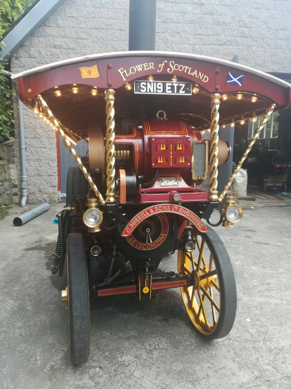"""4"""" Showmans Engine. Fully built and stunning. SORRY THIS HAS NOW SOLD Front_13"""
