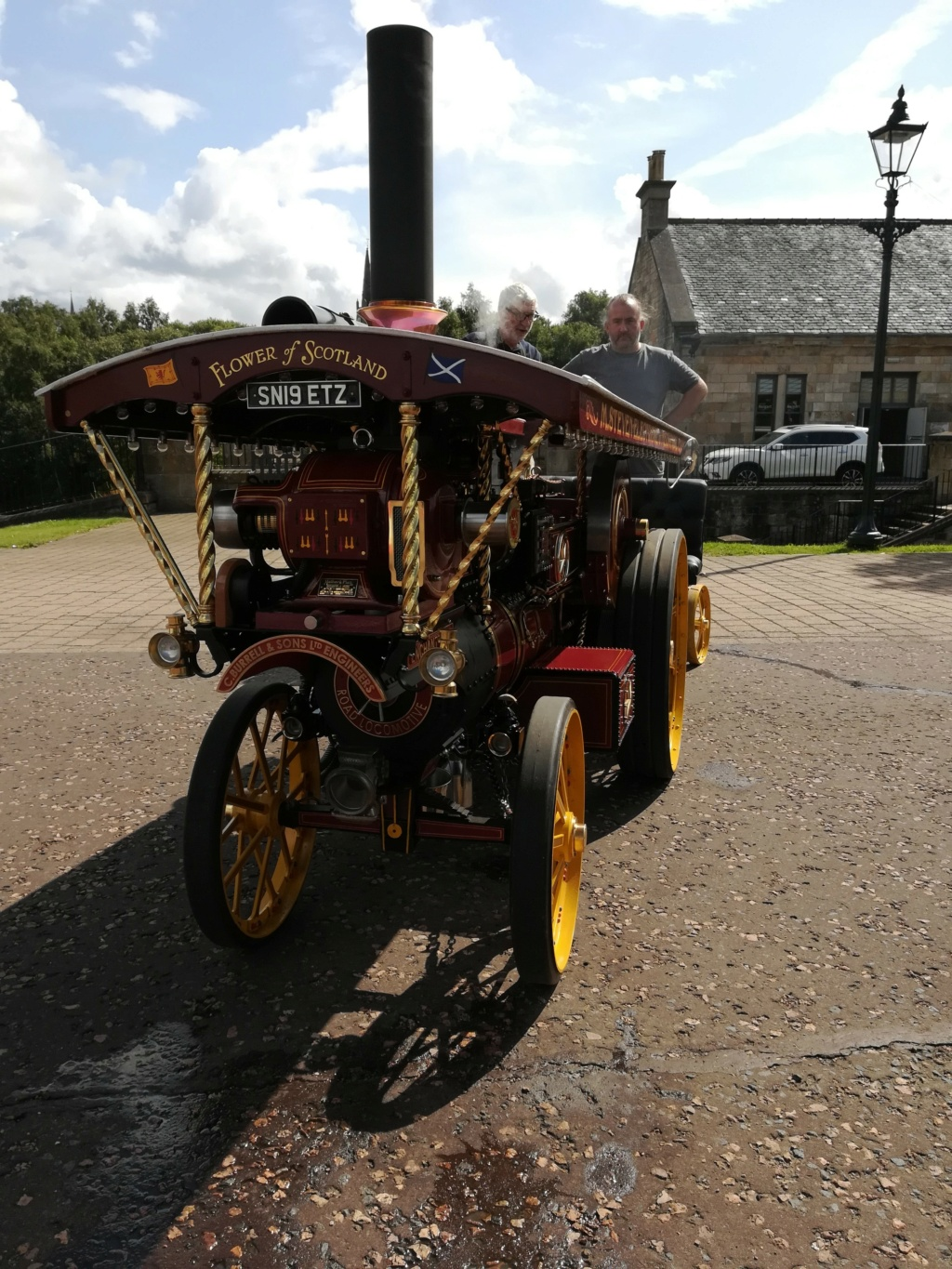 """4"""" Showmans Engine. Fully built and stunning. SORRY THIS HAS NOW SOLD Front_14"""