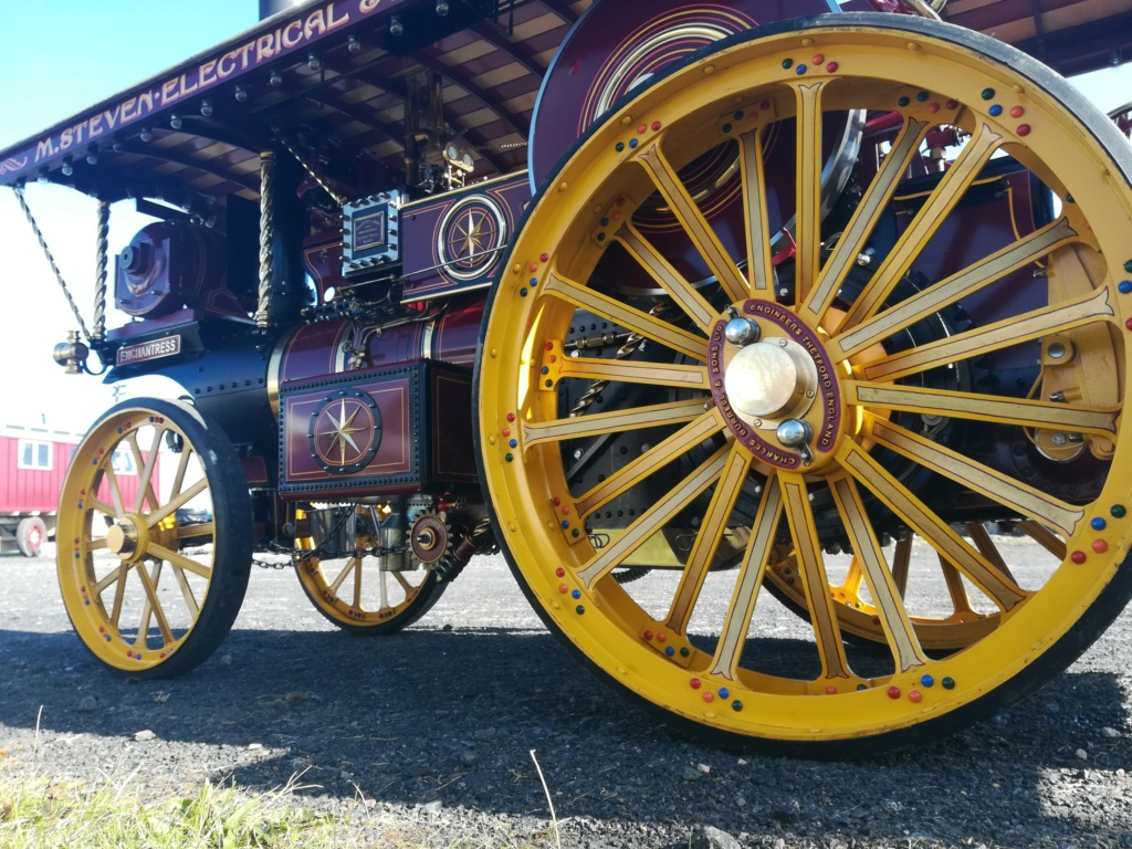 """4"""" Showmans Engine. Fully built and stunning. SORRY THIS HAS NOW SOLD Rear_w11"""