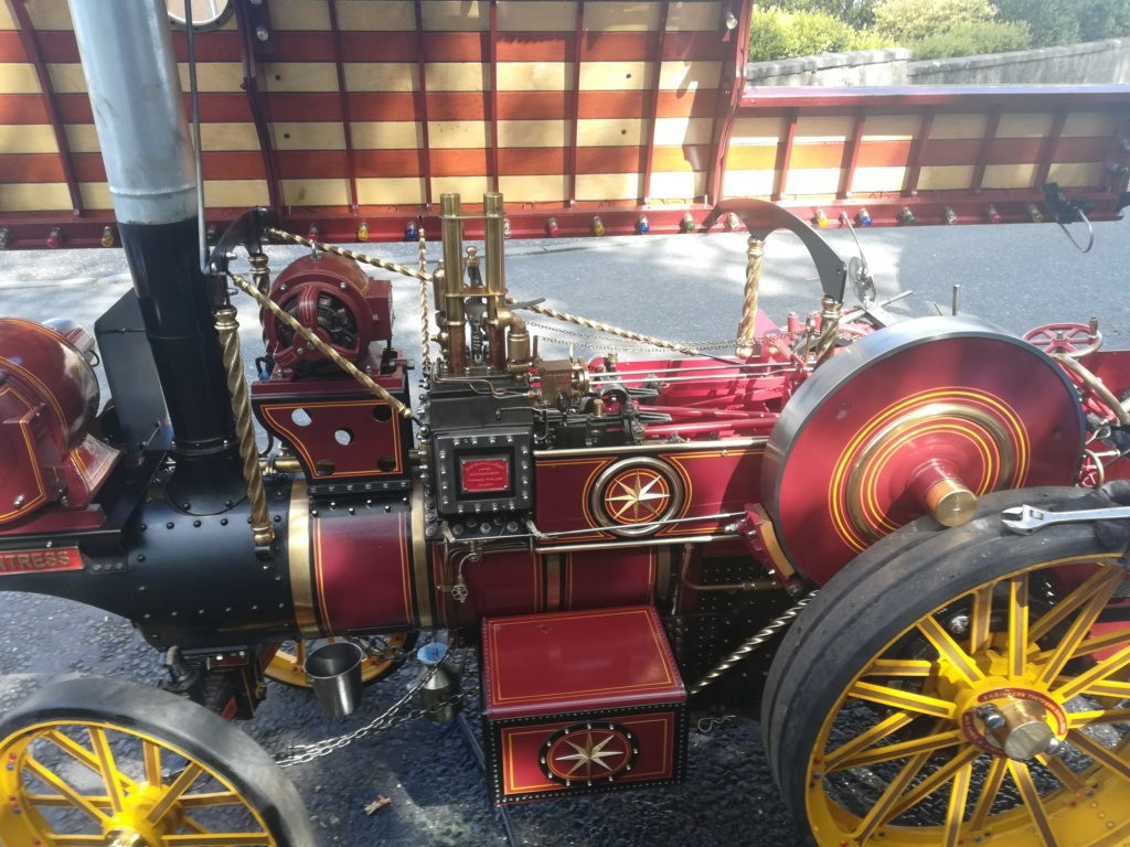 """4"""" Showmans Engine. Fully built and stunning. SORRY THIS HAS NOW SOLD Roof_u10"""