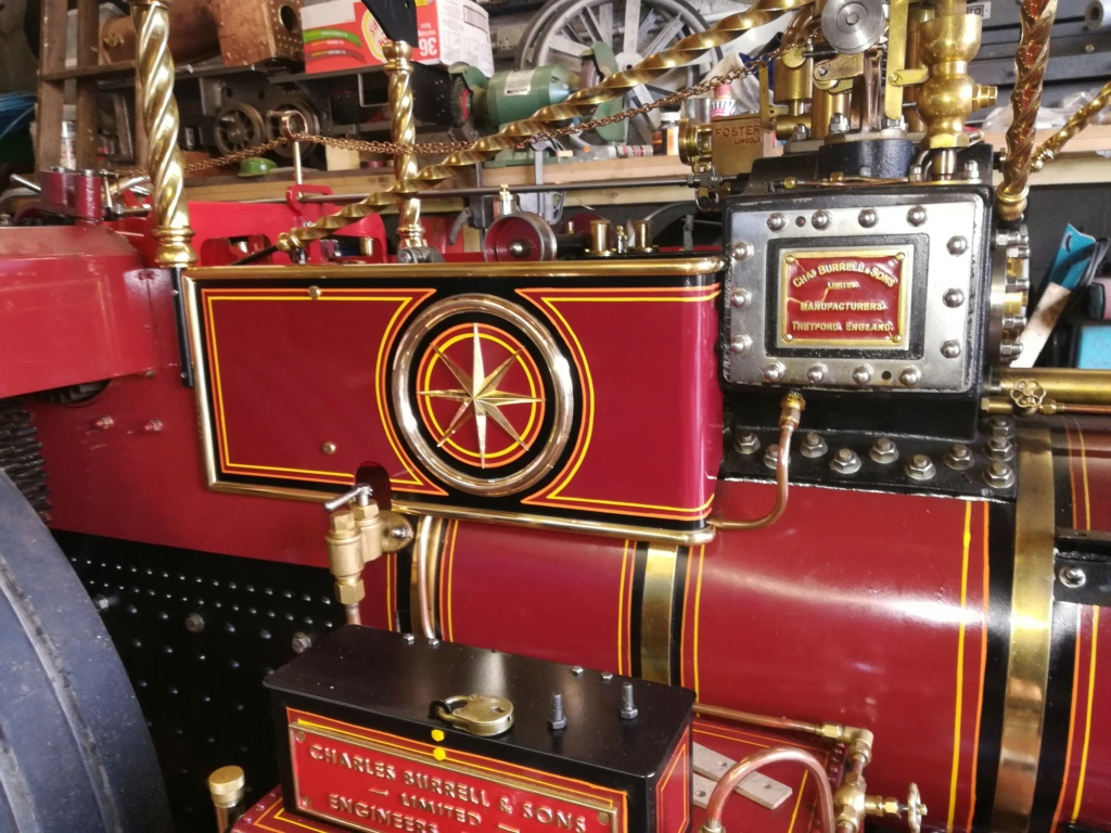 """4"""" Showmans Engine. Fully built and stunning. SORRY THIS HAS NOW SOLD Star10"""