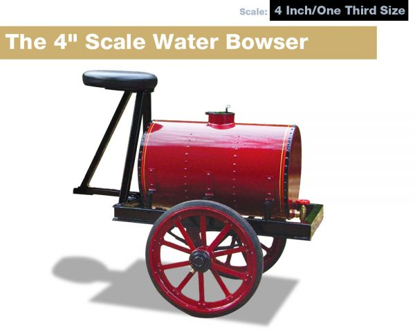 """New Batch of 4"""" Scale Water Bowsers Stwfou10"""
