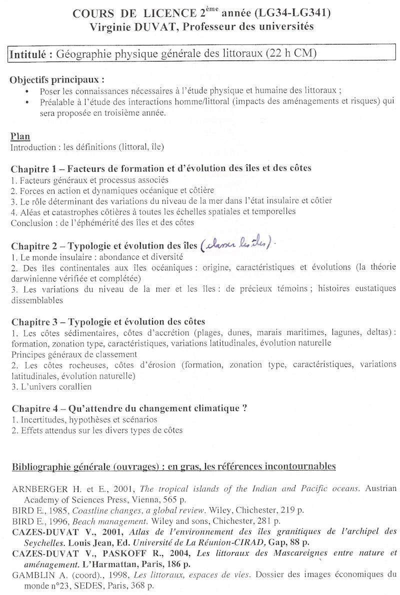 Bibliographie sur la géographie des littoraux Biblio10