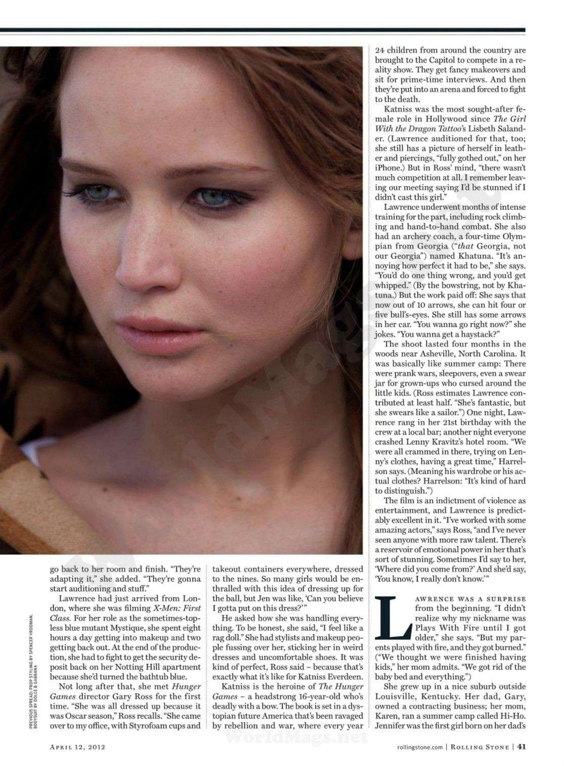 ■ Katniss Everdeen • Jennifer Lawrence ■ - Page 4 Rollin14
