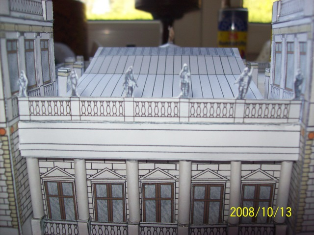 Schloss Dwasieden Rügen 1:160 N  Bokensdorfer Kartonmodelle /Galeriebilder 105_1319
