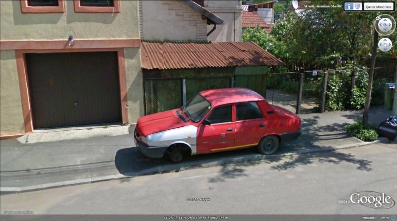 Street View: A Bucarest, le problème, c'est les voitures! 152