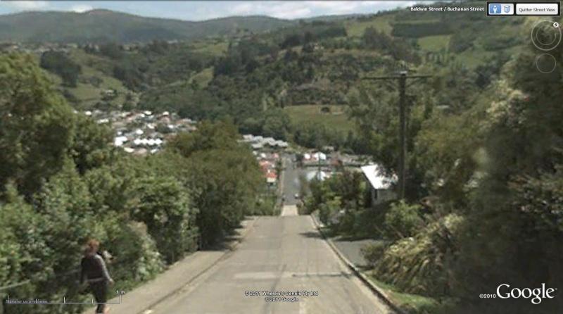 Baldwin Street : la rue la plus pentue du monde, Dunedin - Nouvelle Zélande Bug14