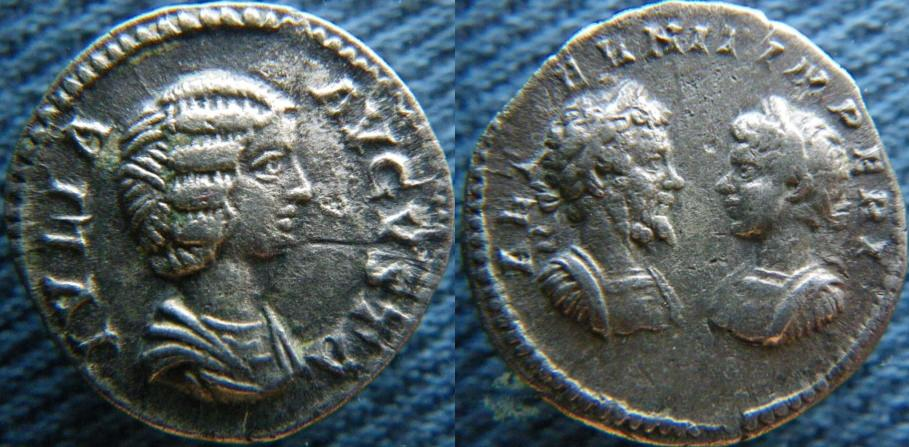 Denier dynastique  julia Domna / Caracalla / Geta  179911