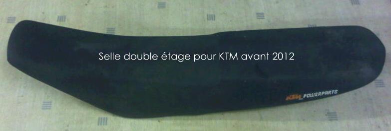 Selle KTM double étage ! Selle10