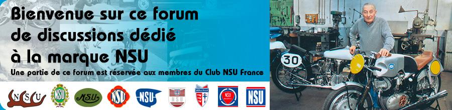 Forum sur la marque NSU
