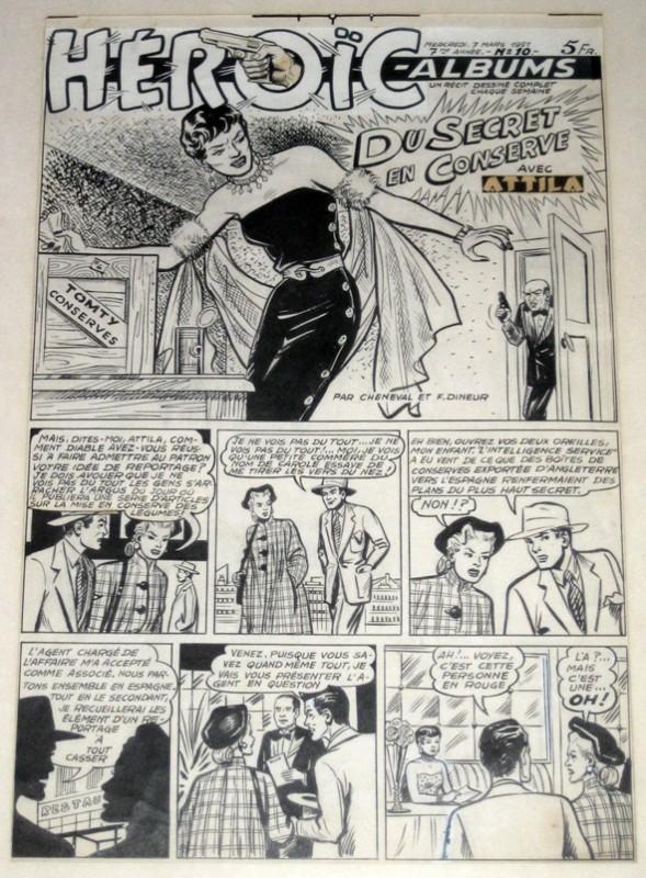 Les dessinateurs méconnus de Tintin, infos et interviews rares - Page 5 Chenev10