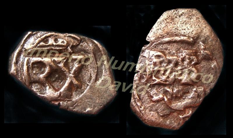 2 Maravedis del anagrama de 1658, Madrid. 1323