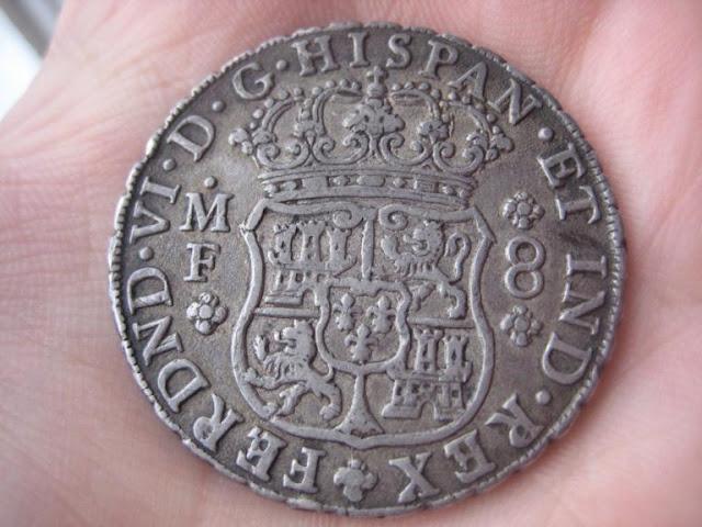8 Reales Fernando VI ceca Méjico 1748 1811