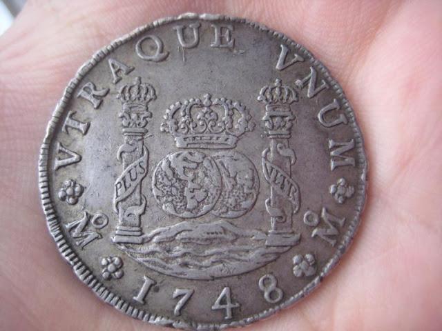 8 Reales Fernando VI ceca Méjico 1748 2227