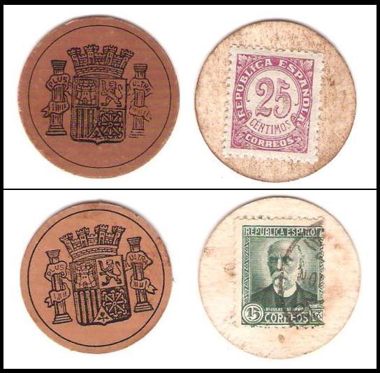 Cartón-Moneda emitidos durante la II República Española. As_de_10