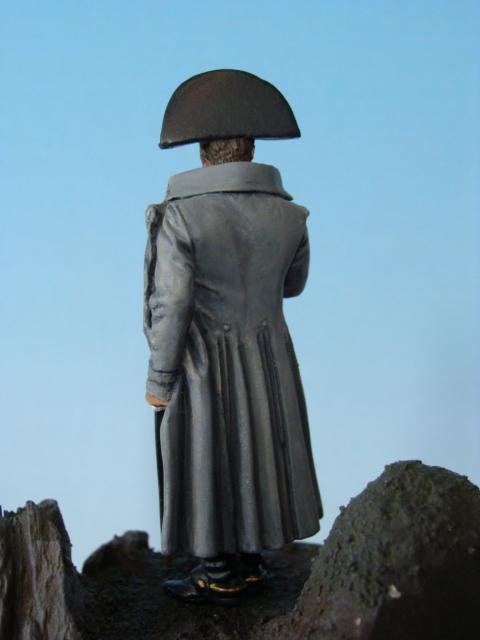 Napoléon pensif sur une falaise face à l'Angleterre Dsc05926