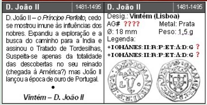 Réal de Jean II du Portugal (1481-1495). Joao_i10