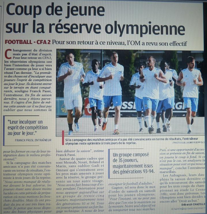 EFFECTIF DE LA RESERVE OLYMPIENNE - Page 2 P1210713