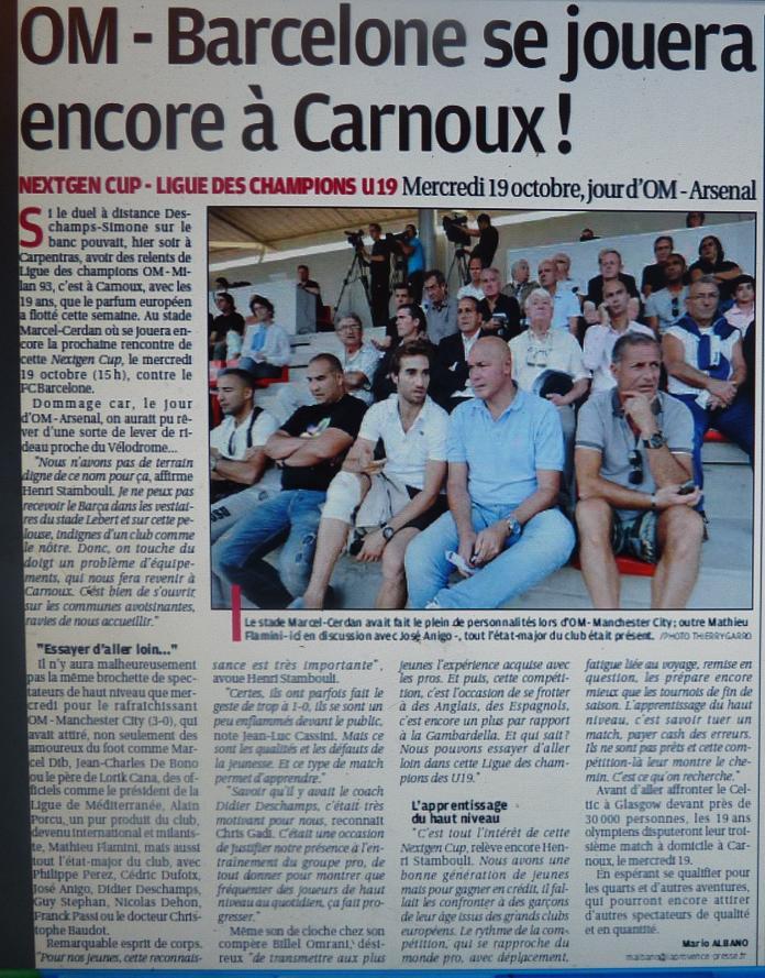 OM // ALLEZ LES JEUNES U19  - Page 2 P1230146