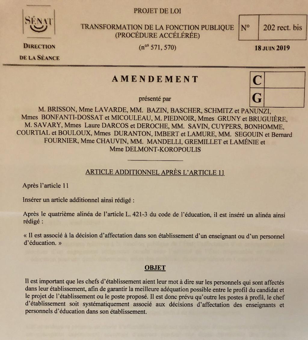 PJL Fonction publique : annualisation du temps de travail, une proposition d'amendement du Sénateur Brisson - Page 2 Zzzz10