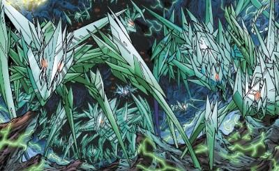 Green Lantern's light, Sinestro's might Rco00710