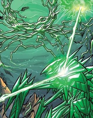 Green Lantern's light, Sinestro's might Rco01010