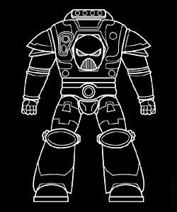 [WH40K] LES ARMURES SPACE MARINES Mk_ii10