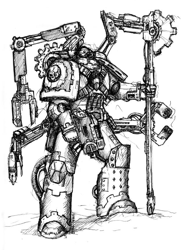 [WH40K] Codex  Raven Guard - Page 2 Techma10